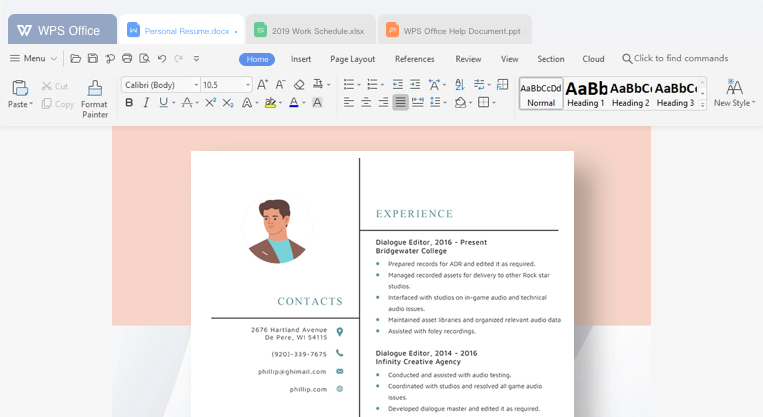 WPS Office - Free Office Download (Word, Spreadsheets