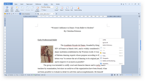 The Most Compatible Free Linux Office Suite | WPS Office